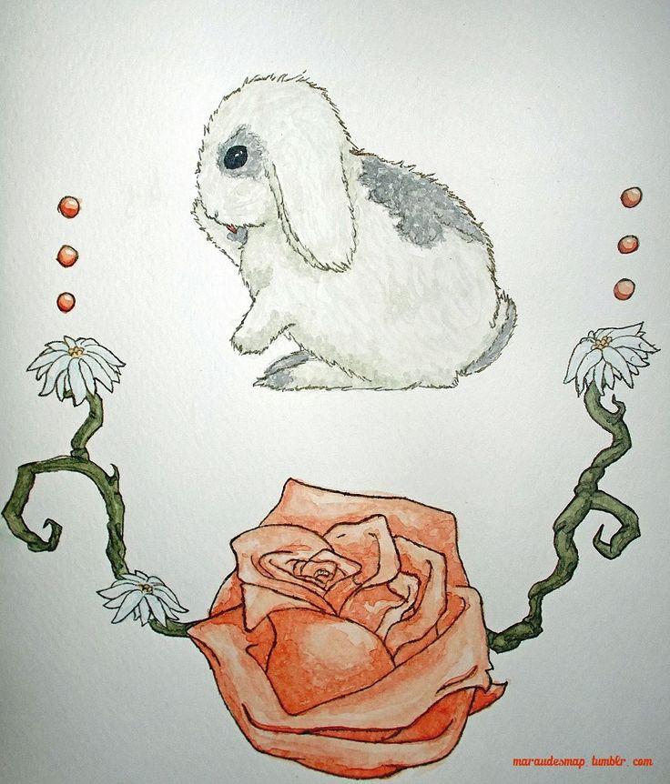 #bunny #watercolor