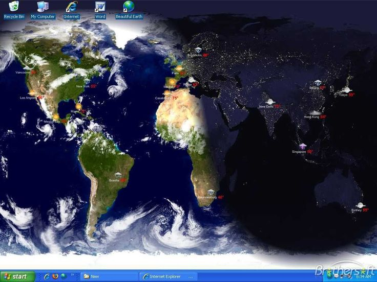 Living Earth - Desktop Weather  World Clock DMG Cracked for Mac