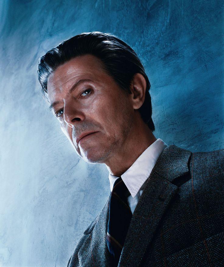 portret van David Bowie