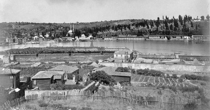 Halıcıoğlu Önleri Galata Köprüsünün Montajı Devam Ediyor 14-Temmuz-1911
