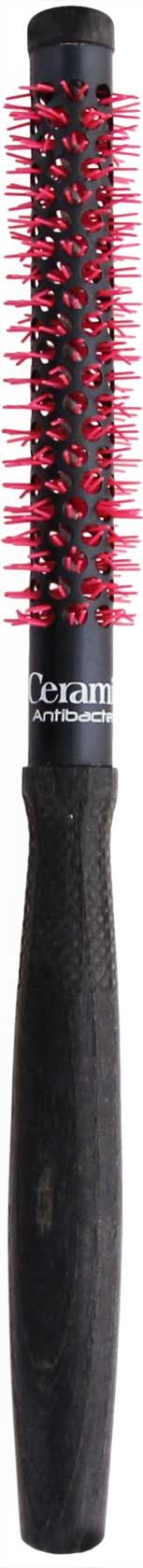 La brosse CERAMIK Antibacteric Oxygène Natural propose un tube thermique en aluminium dur, ultra léger et compact. Le traitement par anodisation spéciale à l'oxygène garantit une répartition parfaite de la chaleur pour un séchage rapide et parfait. ne pas faire subir de chocs thermiques, ce qui permet aux cheveux de mieux réagir et d'être plus facile à travailler. Nylon antibactérien certifié et garanti, antistatique Résistant à de forte chaleur