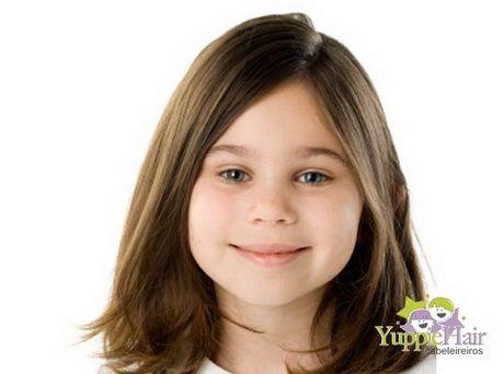 Cortes de cabelo infantil feminino fotos