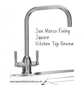 San Marco Finley Square Kitchen Tap