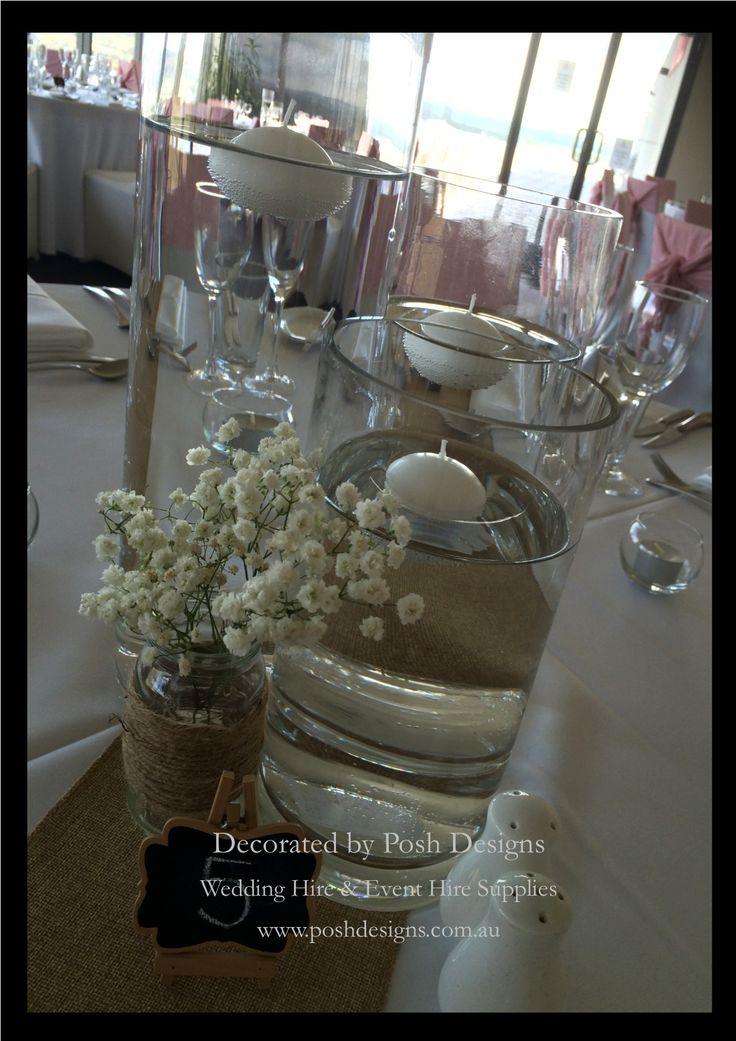 #cylindervases #floatingcandles #wedding #theming available at #poshdesignsweddings - #sydneyweddings #southcoastweddings #wollongongweddings #canberraweddings #southernhighlandsweddings #campbelltownweddings #penrithweddings #bathurstweddings #illawarraweddings  All stock owned by Posh Designs Wedding & Event Supplies – lisa@poshdesigns.com.au or visit www.poshdesigns.com.au or www.facebook.com/.poshdesigns.com.au #Wedding #reception #decorations #Outdoor #ceremony decorations