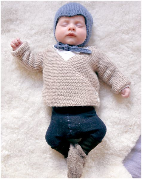 Baby Cardigan This cardigan is sewed in one piece, from the base up, beginning with the back. it is worked in fastener join. Share your final work in our Facebook group. Link to free pattern is below. Baby Knit Cardigan – free knitting pattern is here. Look how does it …