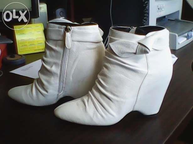 Белые ботинки деми купить