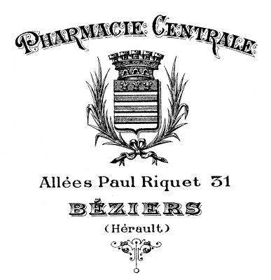 Printable Image Transfer - French Pharmacy Typography-Make for My Medicine Chest!! Lots of Ideas and How To,s