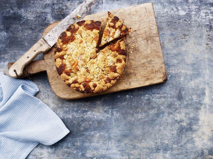 Denne dejlige æblekage fra Sydfyn kan nydes med cremefracie eller vanilieis