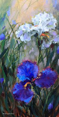 Still Life Artists International: Saying Goodbye and Flags in My Garden - by Nancy Medina Art