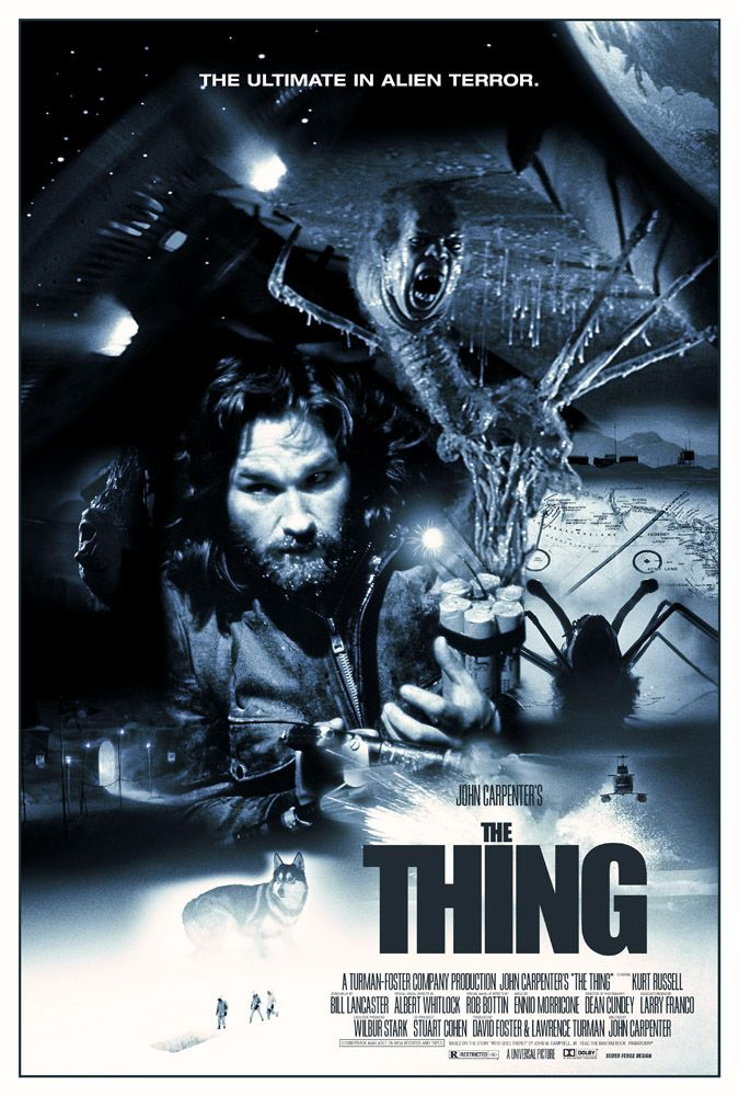 THE THING Silver Ferox Design
