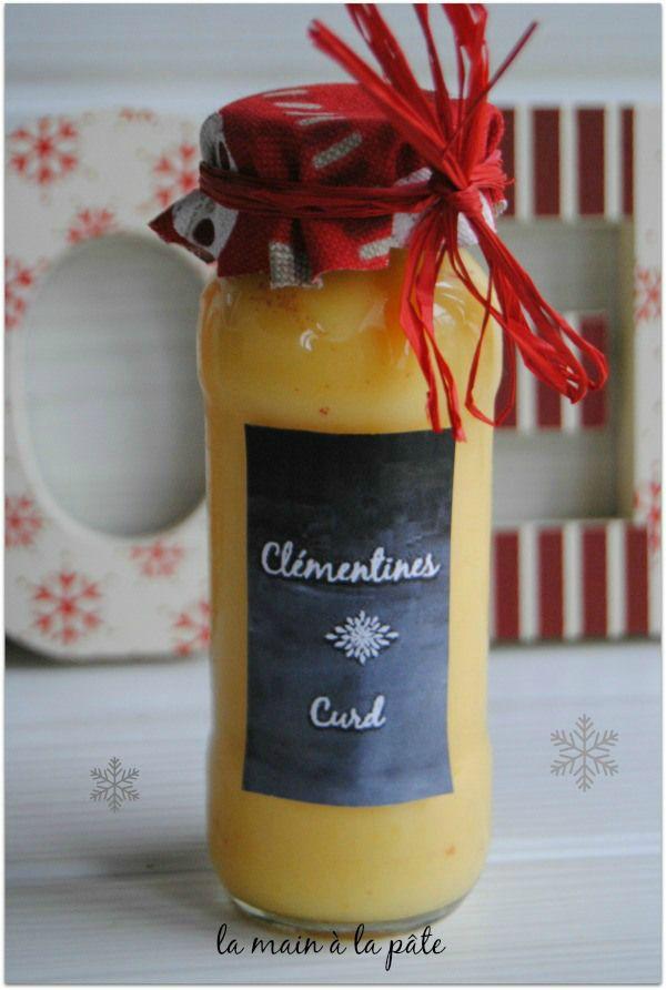 Déclinaison gourmande autour de la clémentine + étiquettes cadeaux imprimables - La main à la pâte