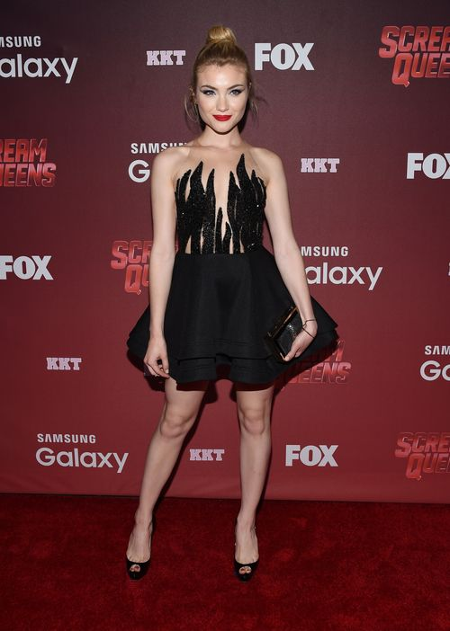 Preestreno Scream Queens. Skyler Samuels