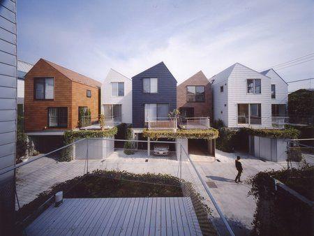 Setagaya-ku Japan by Hitoshi Wakamatsu Architect & Associates