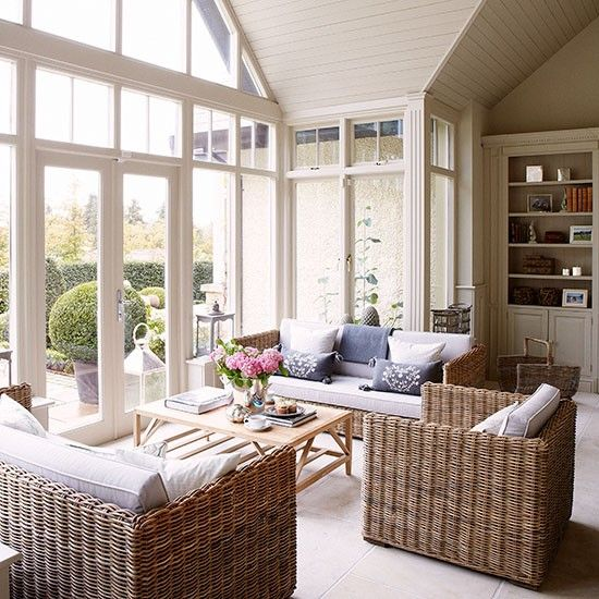 Conservatory | House tour | County Kildare | PHOTO GALLERY | Country Homes & Interiors | Housetohome.co.uk