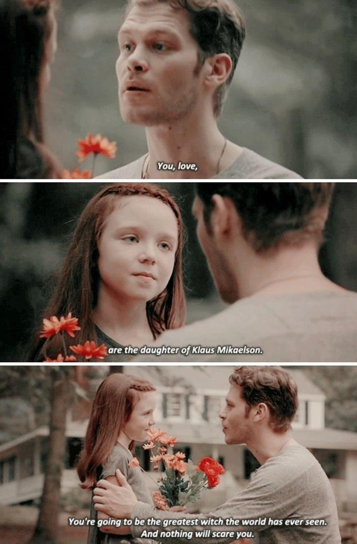 "#TheOriginals 4x03 ""Haunter of Ruins"" - Klaus and Hope"