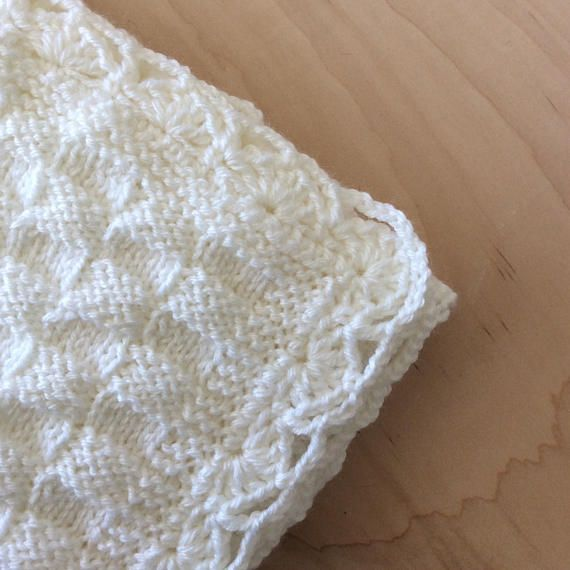 white knitted baby blanket white baby blanket basket weave