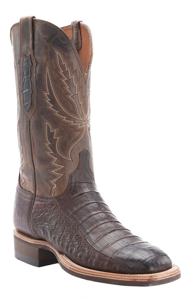 Lucchese Cowboy Collection Men S Brown Full Quill Ostrich