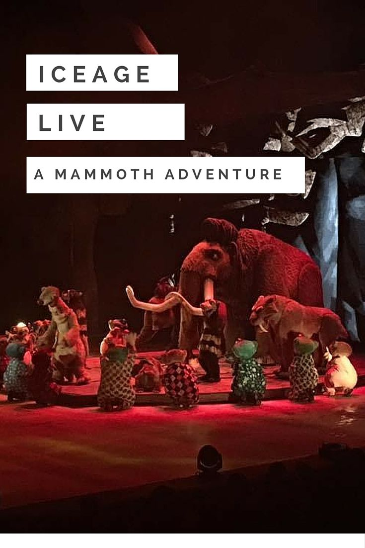 Ice Age LIVE : A Mammoth Adventure is an ice skating theatre show for kids who love the movies. The characters are larger than life