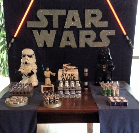 Kit Festa Star Wars   Fabiana de Paula   Elo7