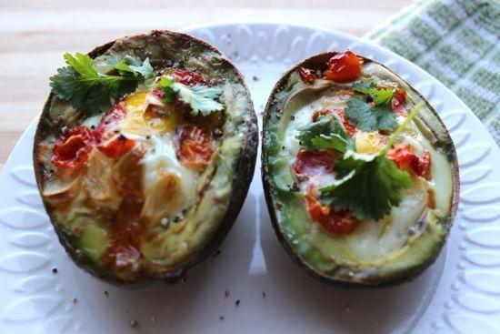 Baked Egg in Avocado