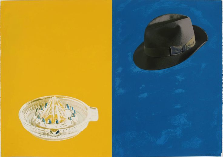 Tim Mara 'Hat and Squeezer', 1991  http://www.tate.org.uk/art/artworks/mara-hat-and-squeezer-p11539