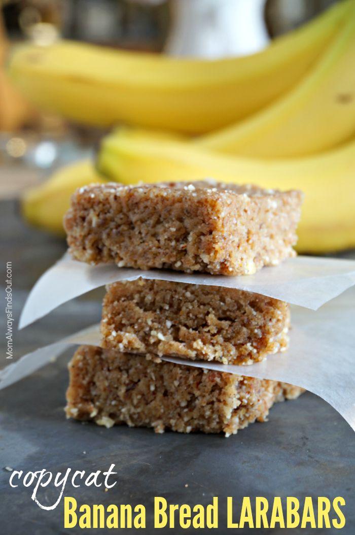Copycat Lara Bars Recipe for Banana Bread Larabars