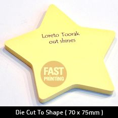 yellow post it note printing