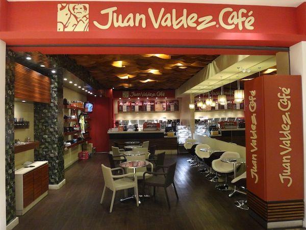 Una miscelánea en Colombia es Juan Valdez Café.