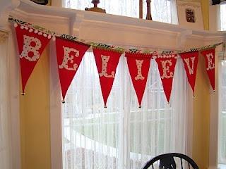 Christmas banner tutorial