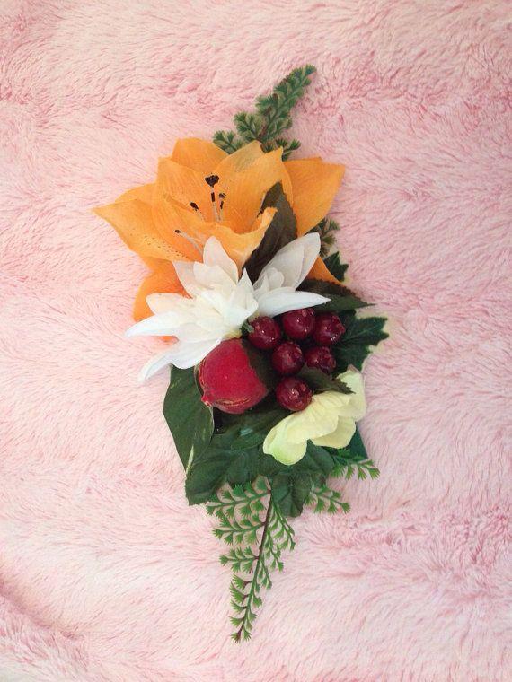 Rockabilly Pinup Tiki Flowers Large