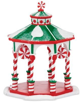 Department 56 Village Peppermint Collection Peppermint Gazebo