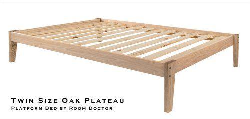 Unfinished Wood Bed Frame