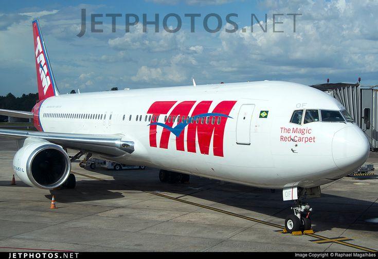 PT-MOF (CN: 41997) TAM Linhas Aéreas Boeing 767-316(ER) by Raphael Magalhães