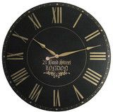 London Towne 36 inch extra large wall clock $189 with free shipping! Personalize your clock for an additional$10