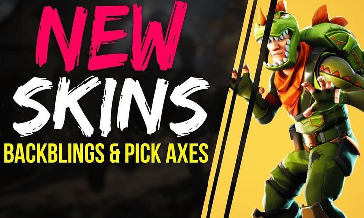 New Skins Backblings & Pick Axes Are Coming  - #season #fortnite #meme #videos #battlepass #battleroyale #solo #duo #squad #victory #victoryroyale #pcgaming #playstation #xbox #storm #skin #vbucks #pickaxes #map #new
