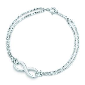 I want this as a bridal gift..till forever...Tiffany Infinity bracelet in sterling silver, medium.
