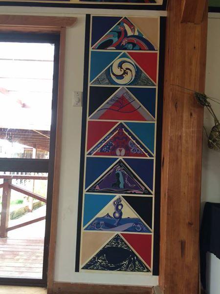 Waiheke Marae Tukutuku panels