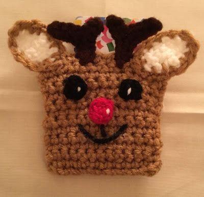 Rudolph Gift Card Holder…