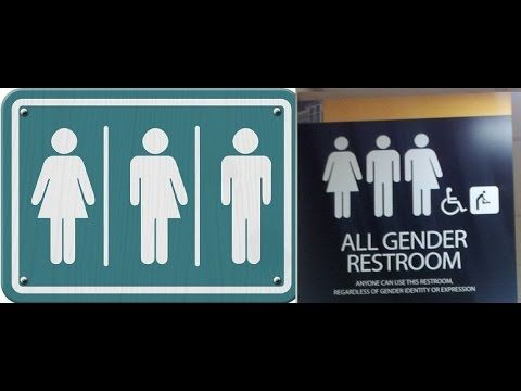 Gender Specific Identity Bathroom. The Solution.