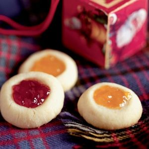Thumb Print Cookies | Holiday Cottage