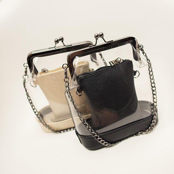 Mode Transparent embrayage petit sac bandoulière sacs pour femmes sacs à main et sacs à main sac de messager de la chaîne bolsas feminina A529 dans Sacs Pochettes de Valises et sacs sur AliExpress.com | Alibaba Group