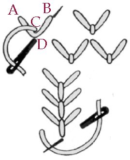 Basic Embroidery Stitches: Detached Stitches & Knots – Needle'nThread.com