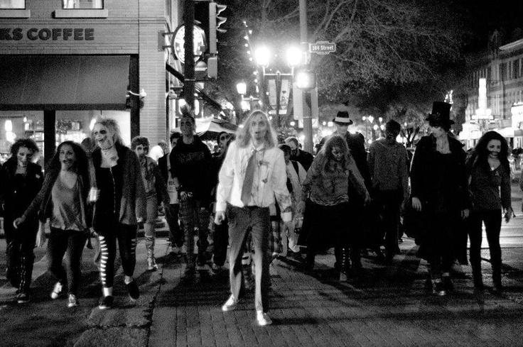 Zombie walk (Edmonton Alberta)