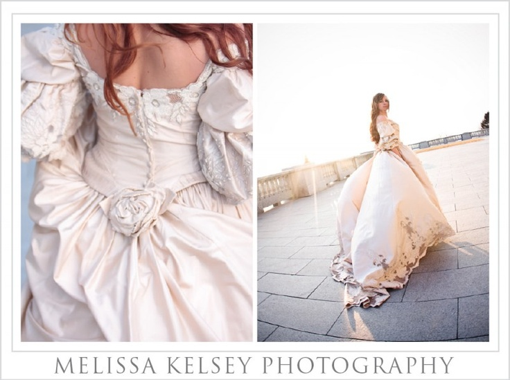 Vintage Gown A La Gone With The Wind! #bridal #gown
