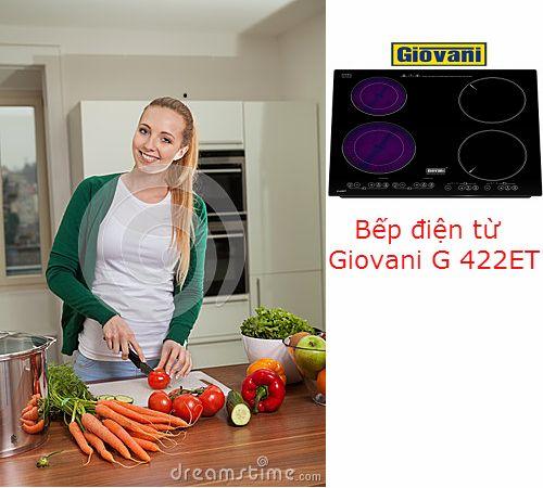 Những tiện ích độc đáo trên bếp điện từ Giovani G 422ET
