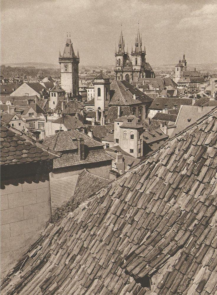Jiří Jeníček, Prague, Old Town, 40's