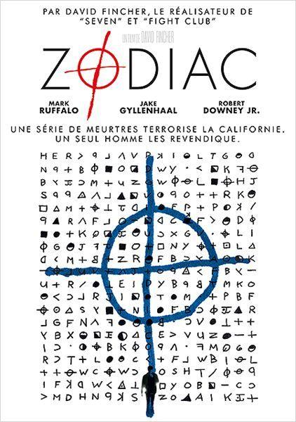 Zodiac (2007) A San Francisco, un tueur en série est responsable de la mort de 37 personnes de 1966 à 1978, pour mettre un terme à ses agissements, trois personnes vont tenter de l' identifier et de le mettre entre les mains de la justice.