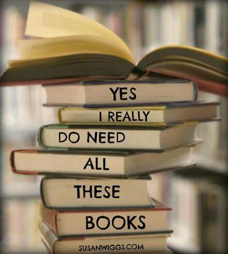 Yes, I really do need all these books.