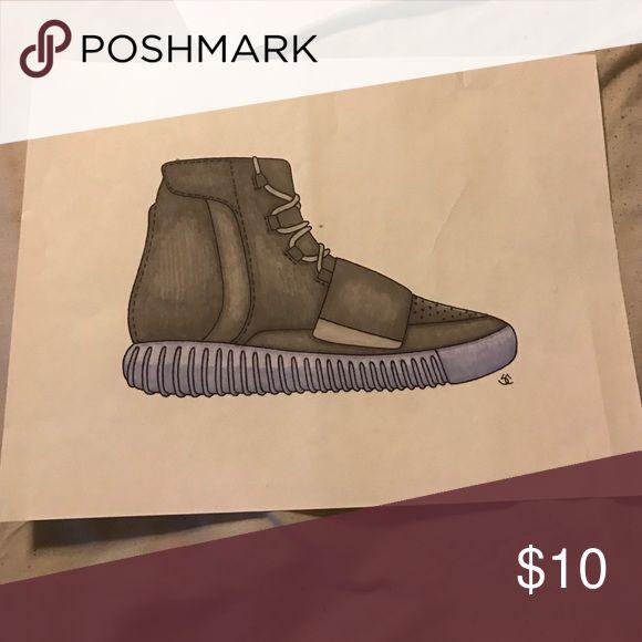Sneaker art Sneaker art, will arrive framed Yeezy Accessories