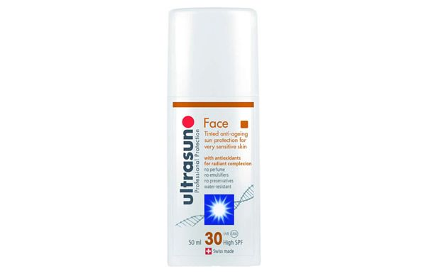 Protect the skin and hide imperfections with the new Ultrasun Face SPF30 Tinted - now available from Effortless Skin.